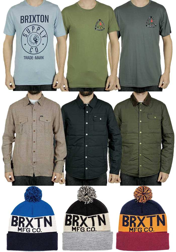 See our current staff picks below and click Brixton Clothing UK to see the  whole collection. 83fe0c4e70b