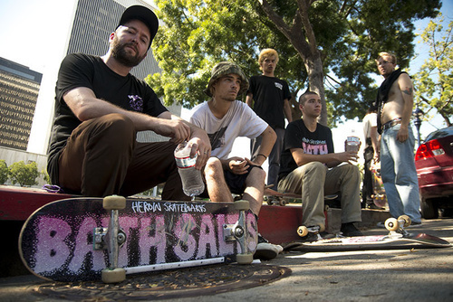 fos and the heroin skateboarding team