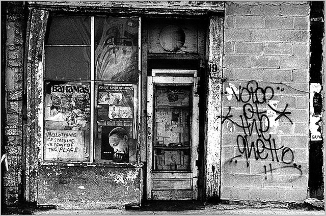 voice of the ghetto graffiti
