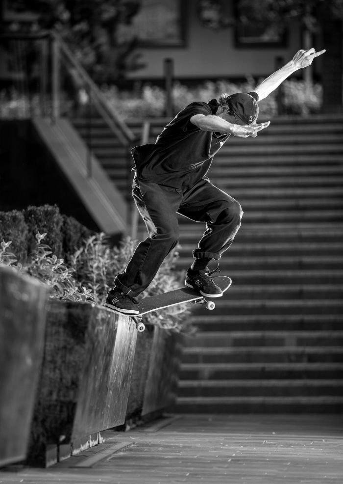 Seb Batty, switch crook, Manchester, Sidewalk Magazine x New Balance Numeric Barge At Will Tour, photo - Chris Johnson