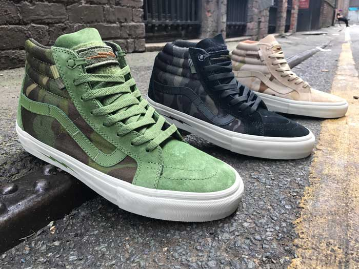 vans defcon sk8 hi jungle black arid