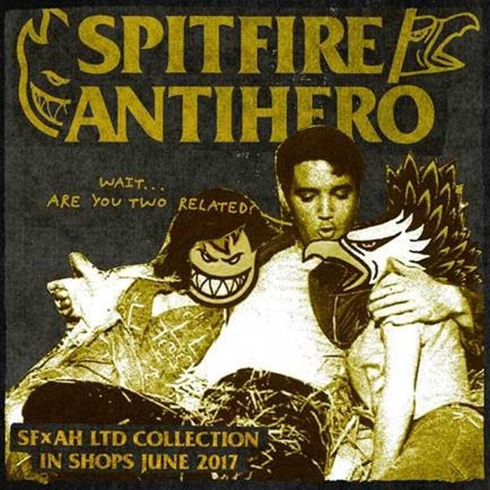 spitfire x antihero collaboration release date