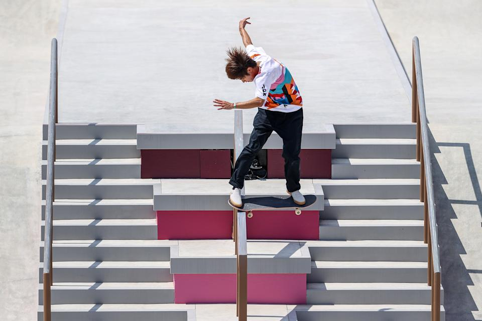 Yuto Horigome is skateboarding's first ever Olympic gold medalist