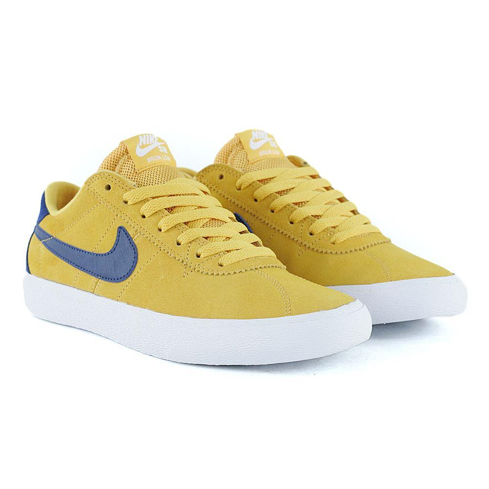e773d486b27e Nike Sb Womens Bruin Low Yellow Ochre Blue Void White at Black Sheep  Skateboard Shop