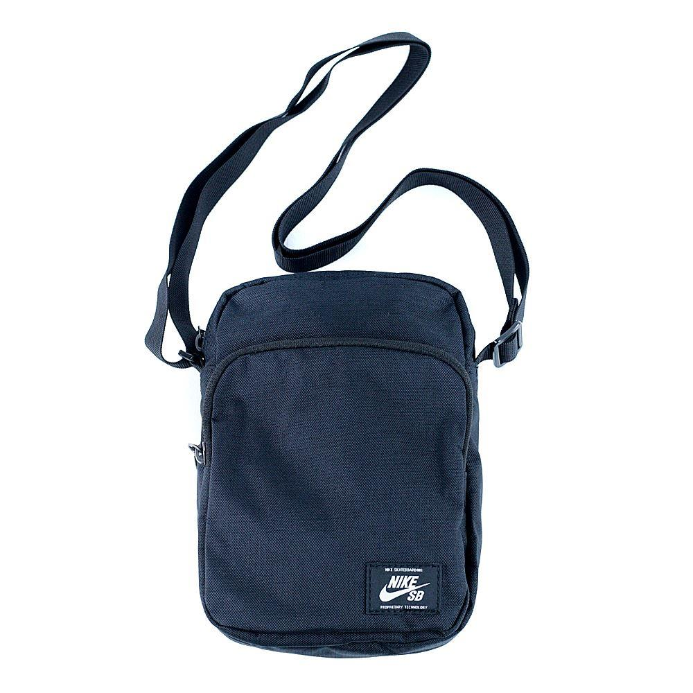 83d44035482c Nike Sb Heritage Summit Shoulder Bag Black Black White at Black Sheep
