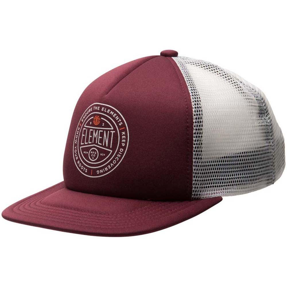 d3647131e26 Element Rift II Mesh Trucker Cap Napa Red at Black Sheep Skateboard Shop
