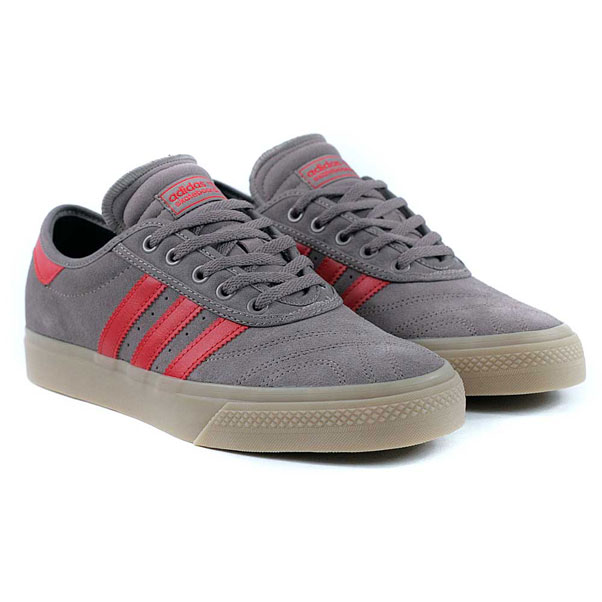 Adidas Skateboarding Adi Ease Premiere ADV Trace Brown Scarlet Gum Skate  Shoes at Black Sheep Skateboard Shop