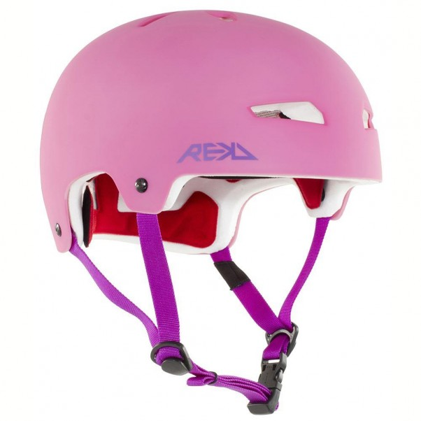 REKD Elite Skateboard Bmx Helmet Pink/Purple