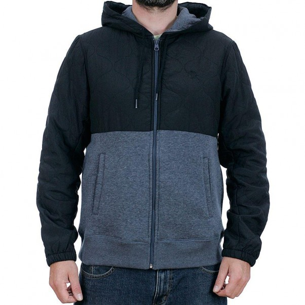 Element House Zip Hooded Jacket Eclipse Navy Heather