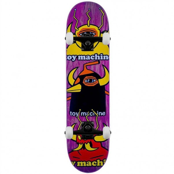 Toy Machine Chopped Up Complete Skateboard Multi 8""