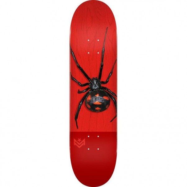 Mini Logo Skateboard Deck Poison Black Widow 16 K20 291 Multi 7.75""