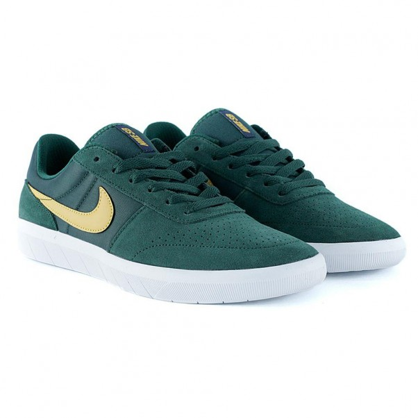 sports shoes acb63 883fe Nike Sb Team Classic Midnight Green Yellow Ochre White