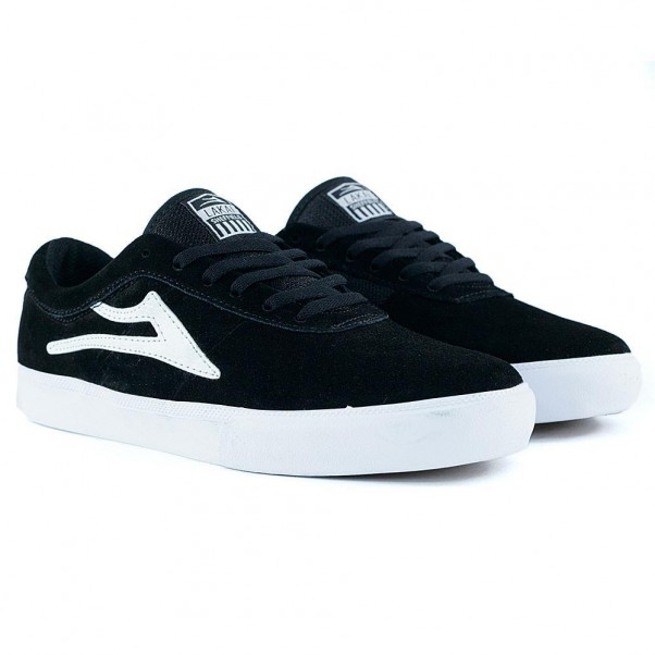 Lakai Footwear Sheffield Black Suede FA18