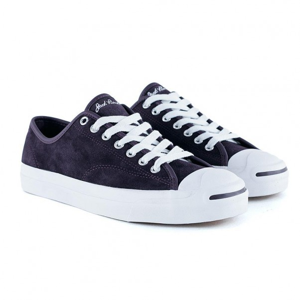 Converse Cons Jack Purcell Pro Ox Black Cherry White
