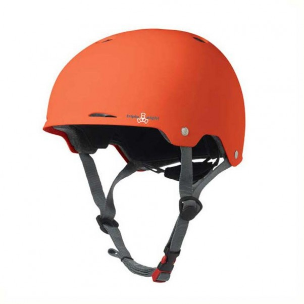 Triple 8 Gotham EPS Helmet Rubber Orange