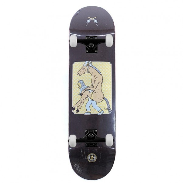 """Drawing Boards Horse Power Complete Skateboard 8"""""""