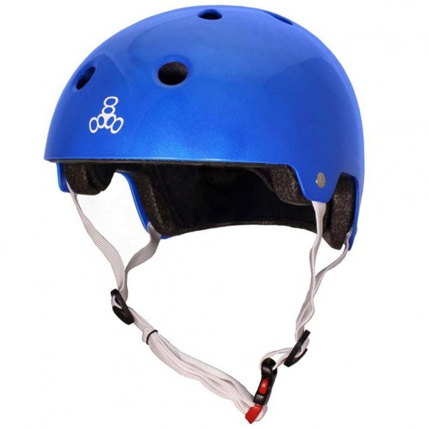 Triple 8 Brainsaver EPS Helmet Metallic Blue