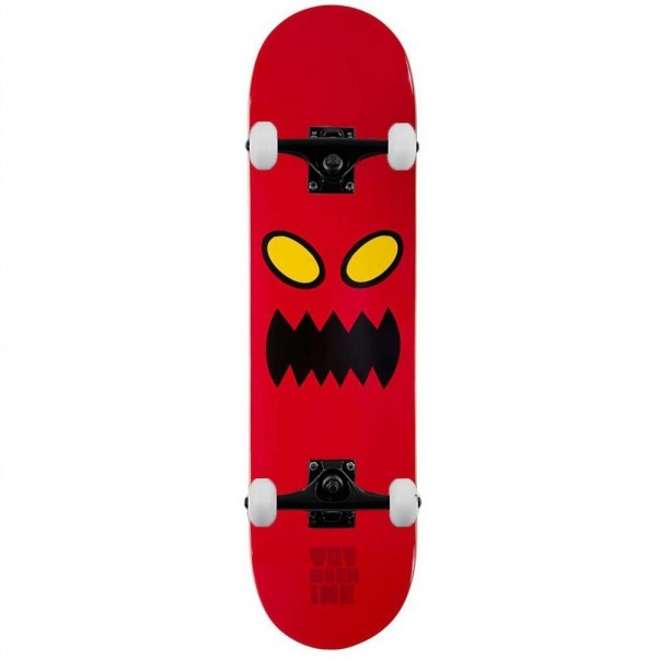 """Toy Machine Monster Face Complete Skateboard Red 8"""""""