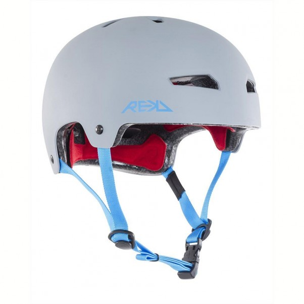REKD Elite Skateboard Bmx Helmet Grey/Blue