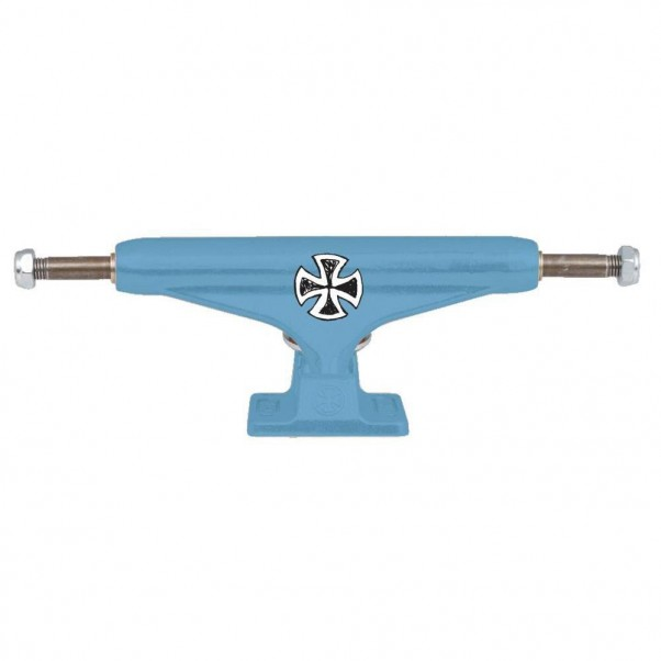 Indy Independent Hollow Lizzie Armanto Cross Skateboard Trucks Light Blue 149mm