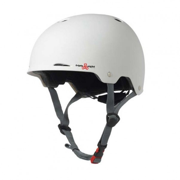 Triple 8 Gotham EPS Helmet Rubber White