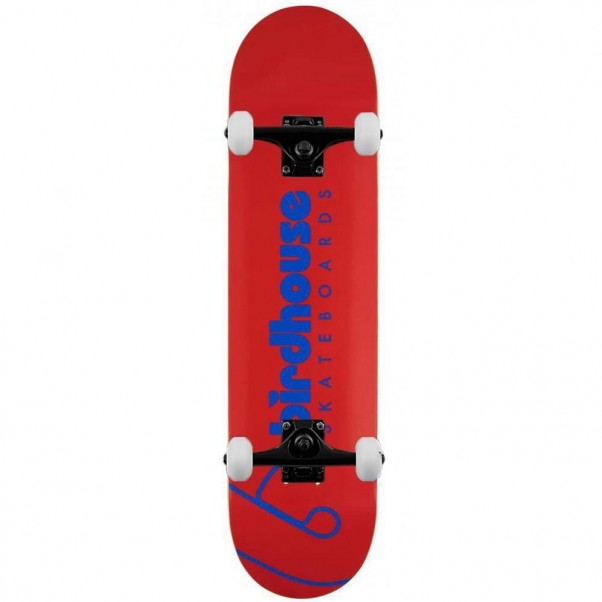 Birdhouse Skateboards Team Logo Complete Skateboard Red 7.75""