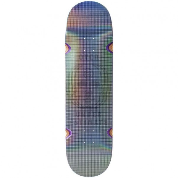 """Madness Skateboards Holographic Factory OUE R7 Skateboard Deck 8.5"""""""