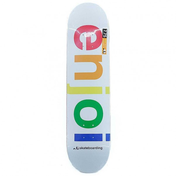 Enjoi Skateboards Spectrum White Skateboard Deck 8