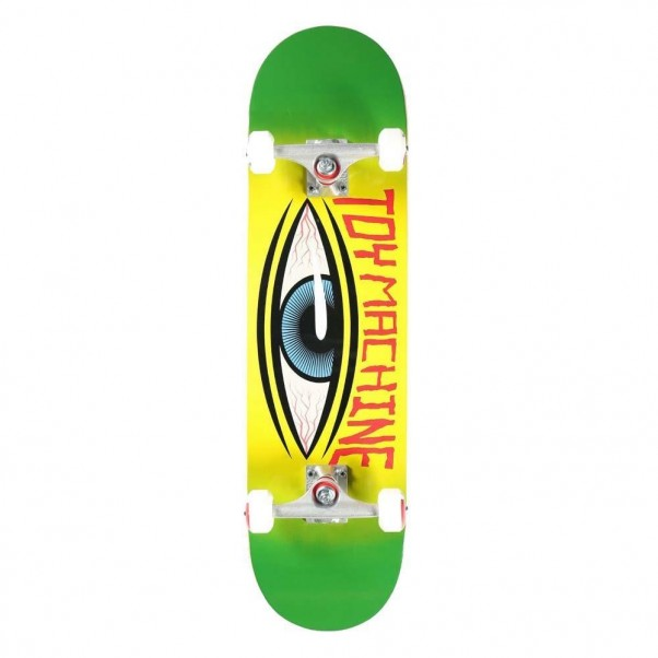 """Toy Machine Future Factory Complete Skateboard Green 8.25"""""""