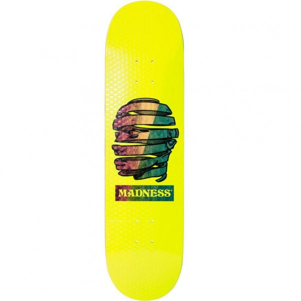 Madness Skateboards Pilot Skateboard Deck 8.25