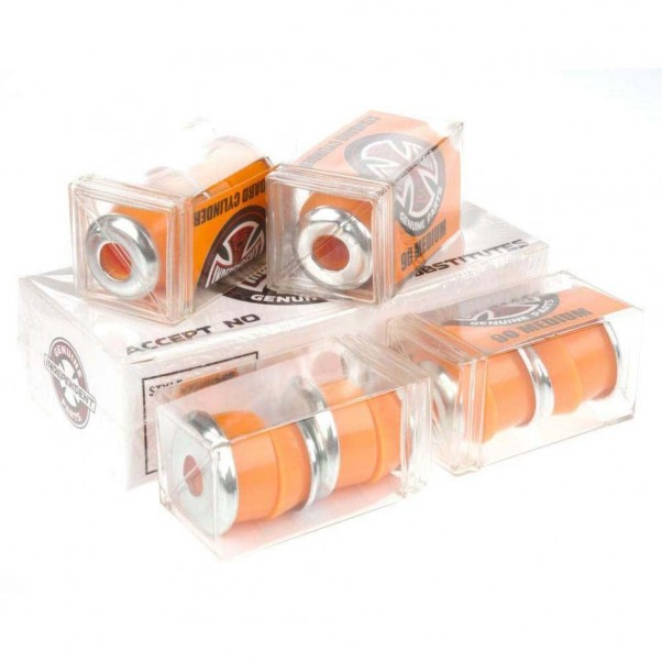 Indy Standard Cylinder Skateboard Truck Bushings Medium Orange 90A