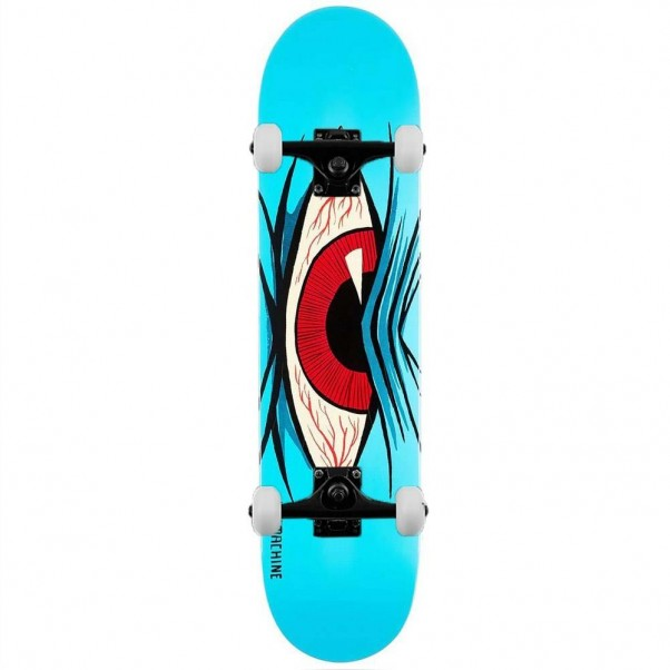 Toy Machine Mad Eye Complete Skateboard Blue 8.13""