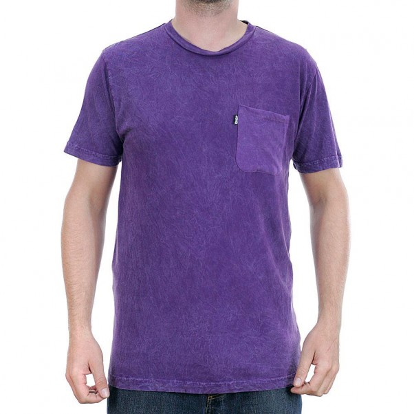Rip N Dip Wolrd On Fire T-Shirt Purple Mineral Wash