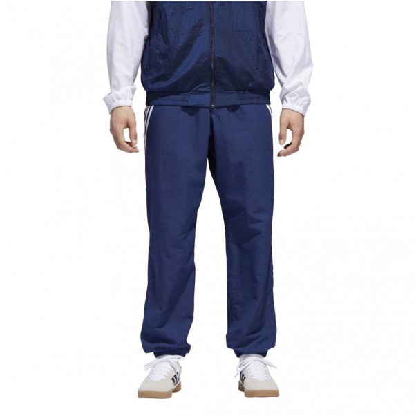 Adidas Skateboarding Workshop Tracksuit Pants Night Indigo Navy White