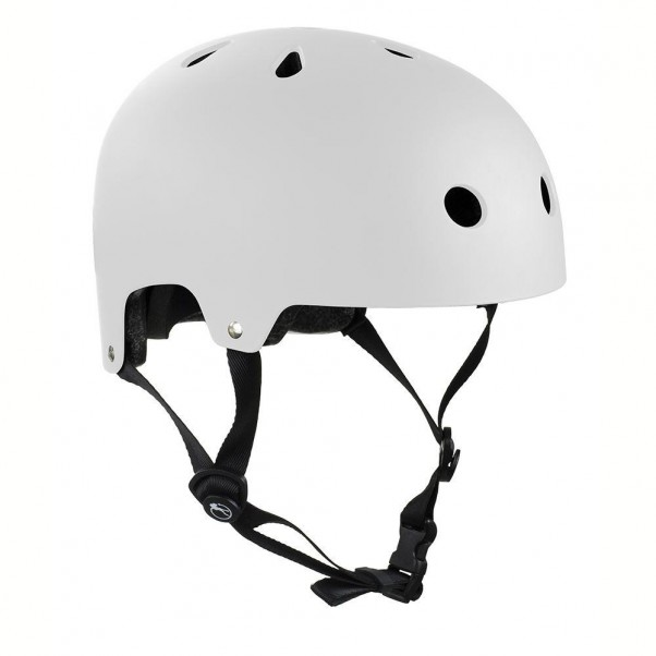 SFR Essentials Skateboard Bmx Helmet Matt White