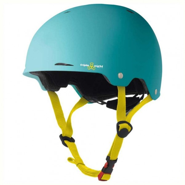 Triple 8 Gotham EPS Helmet Rubber Teal