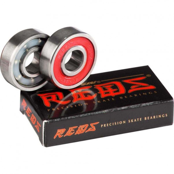 Bones Reds Pack of 2 Skateboard Bearings SWRB 608 8 MM