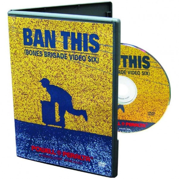 Powell Ban This Skateboard DVD