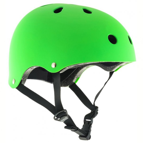 SFR Essentials Skateboard Bmx Helmet Green