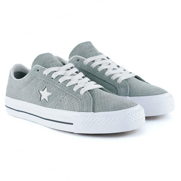 Converse Cons One Star Pro OX Dark Stucco Driftwood White