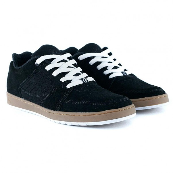 Es Footwear Accel Slim Black Gum White