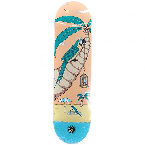 """Drawing Boards Exotic Caged Humans Skateboard Deck 8"""""""