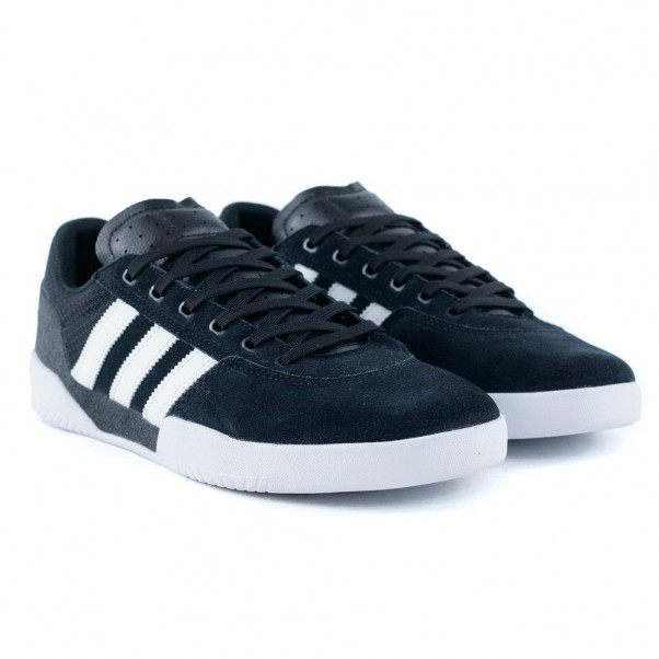 Adidas Skateboarding City Cup Core Black Feather White
