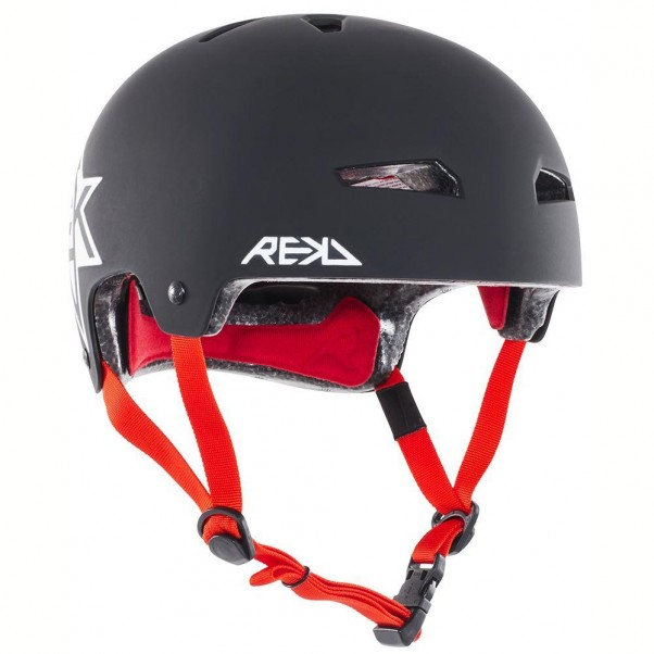 REKD Elite Icon Skateboard Bmx Helmet Black/White