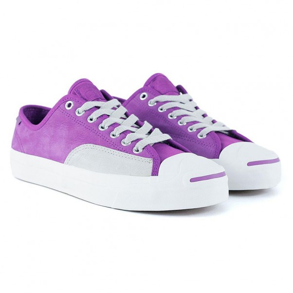 Converse Cons Jack Purcell Pro Icon Violet Pale Grey