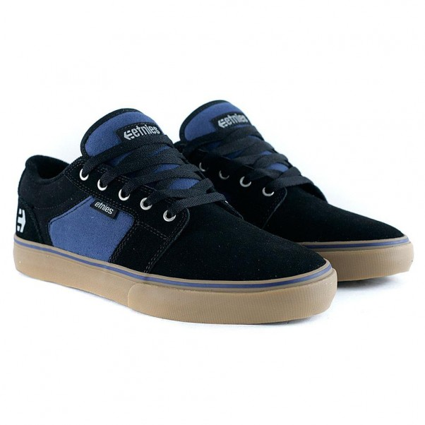 Etnies Footwear Barge LS Black Navy