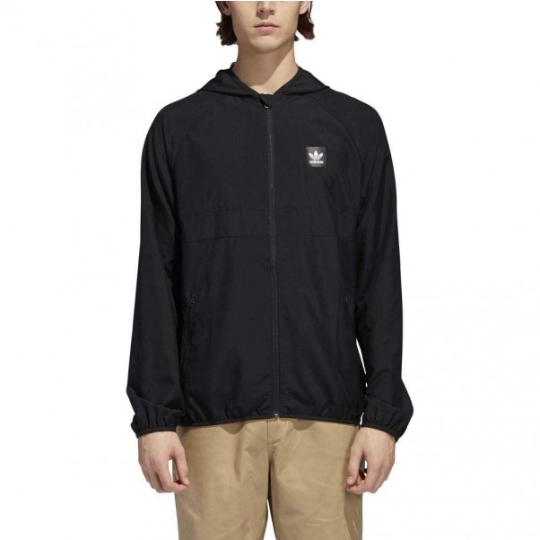 Adidas Skateboarding BB Wind Jacket Black Black