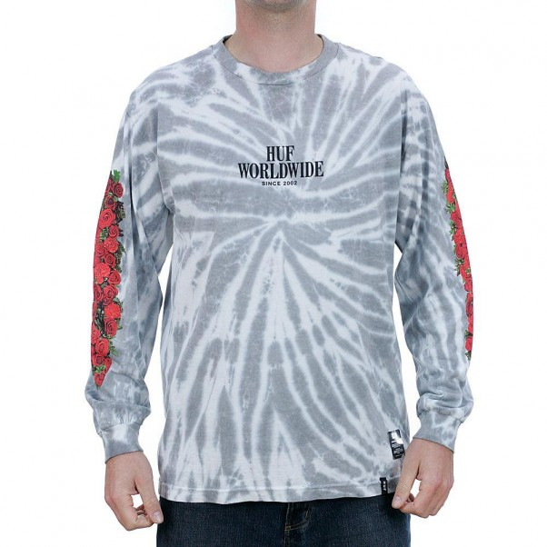 Huf Shakedown Long Sleeved T-Shirt White