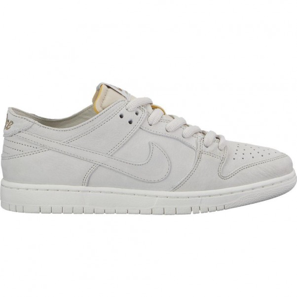 Nike Sb Dunk Low Pro Deconstructed Light Bone Summit White Skate Shoes
