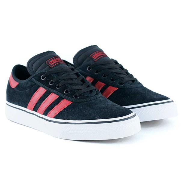 Adidas Skateboarding Adi-Ease Premiere ADV Core Black Scarlet White Skate Shoes